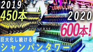 【シャンパン600本】大阪で最も勢いのあるホストクラブの周年イベントに密着!
