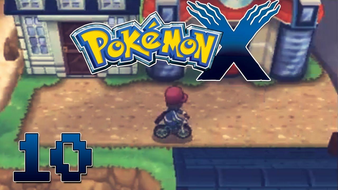 Let S Play Pokemon X Part 10 Amie Bicycle Gameplay Walkthrough