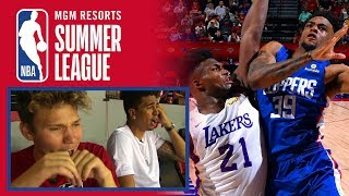 Kris London & Jesser Call Lakers vs. Clippers Live at NBA Summer League