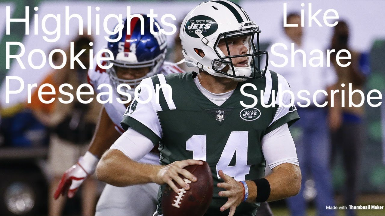 Sam Darnold Youngest Starting Qb In Nfl History New York Jets