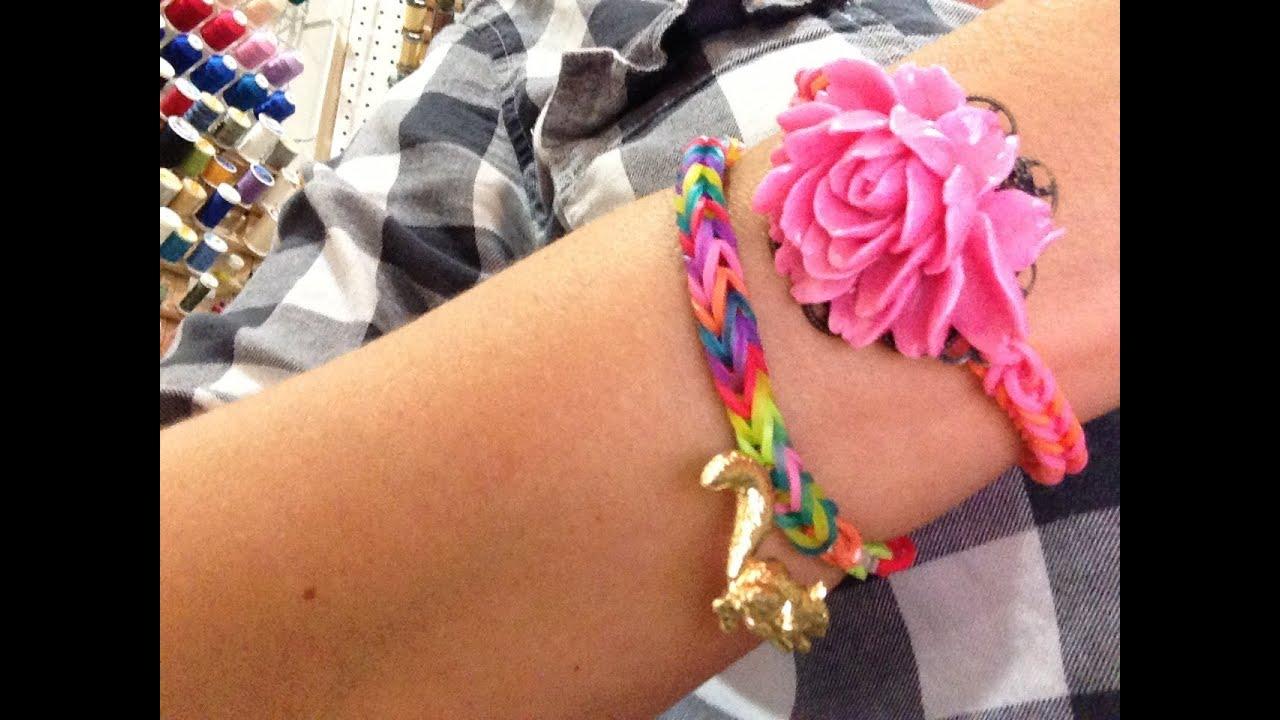 How do you make a rainbow loom bracelets?