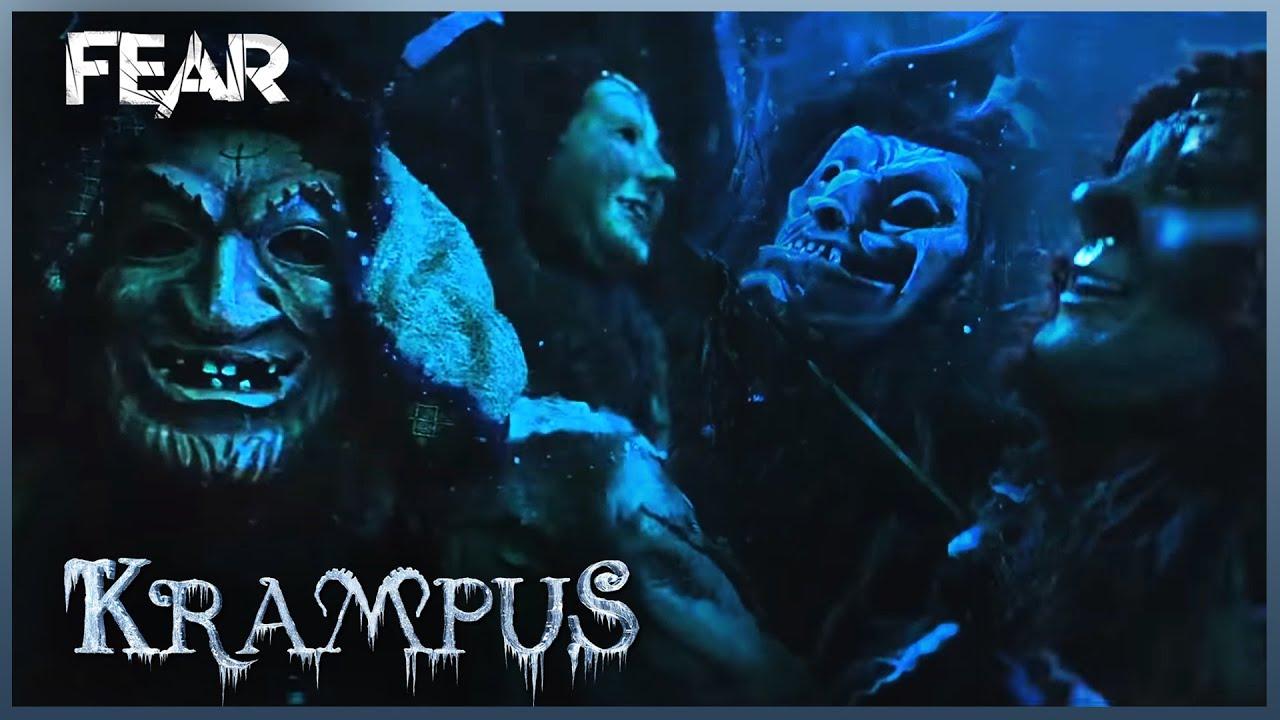 Der Klown And The Elves Kidnap Baby Chrissie Krampus