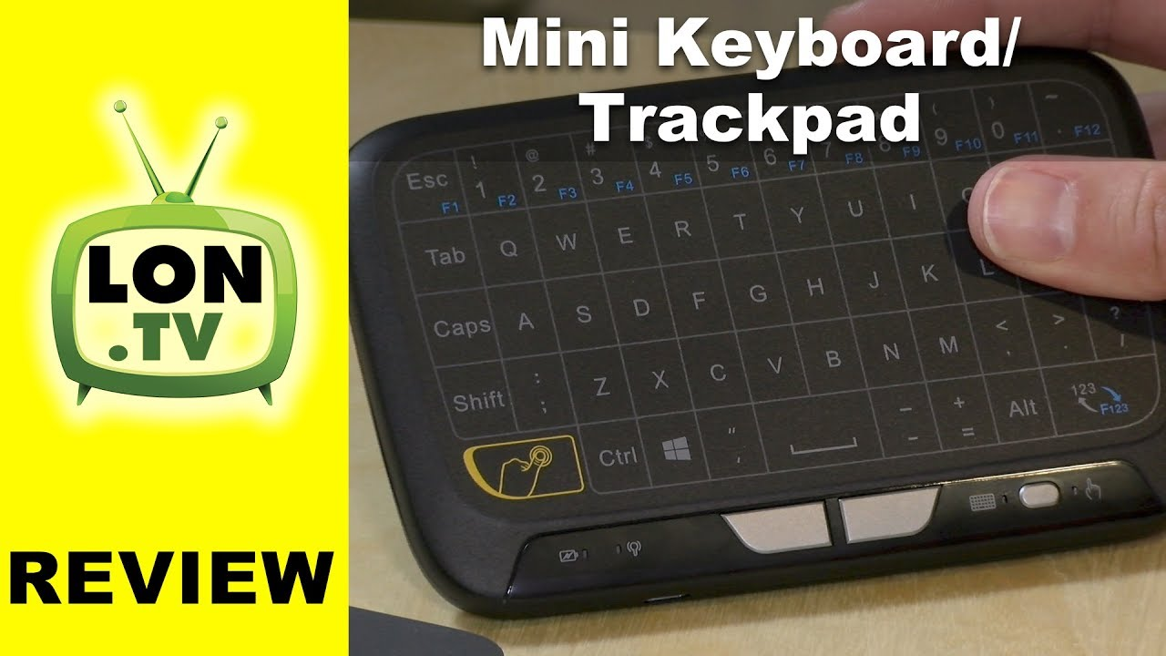80e11bd5006 Didn't Make The Cut: Meerveil H18 Mini Wireless Keyboard and Trackpad  (integrated) Review