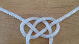 How To Tie The Double Celtic Knot - DIY Crafts Tutorial - Guidecentral