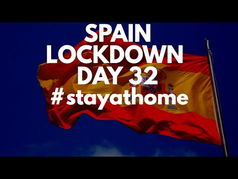 Spain update day 32 - No ease to confinement restrictions in sight