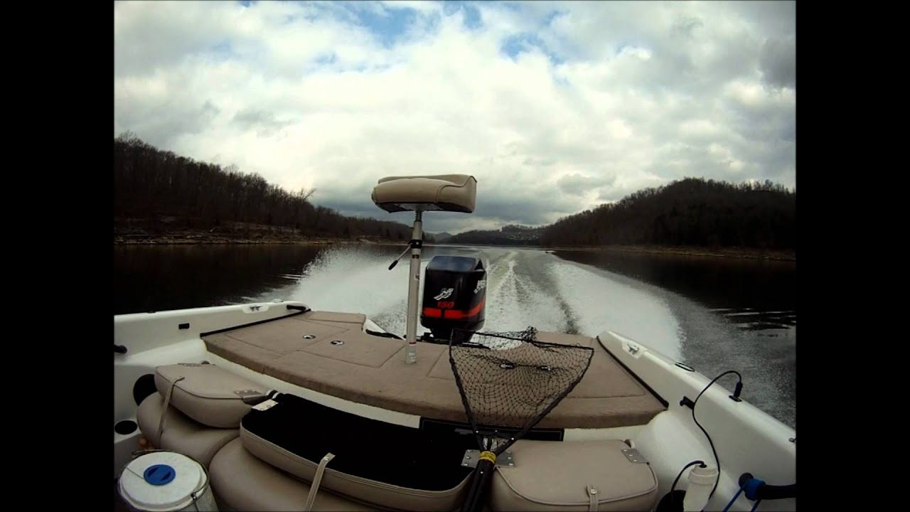 Fishing with forrest final at center hill lake tennessee 1 for Center hill lake fishing report