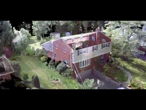 3D Laser Scan Suburban House Exterior