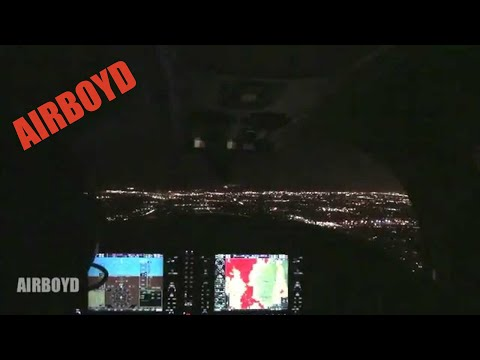 Columbia Night Flight Santa Barbara to Van Nuys