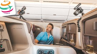 Singapore Airlines Business Class A350, 10 Stunden JNB-SIN | YourTravel.TV