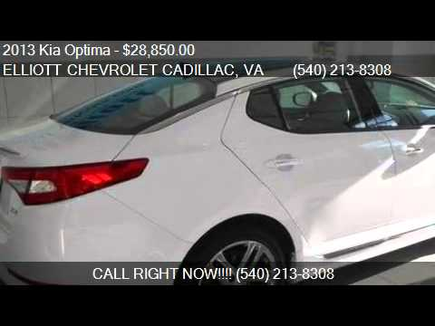 Good 2013 Kia Optima SXL 4dr Sedan For Sale In Staunton, VA 24401. Elliott  Chevrolet Cadillac
