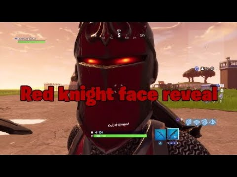 RED KNIGHT'S REAL FACE (Fortnite Battle Royale)