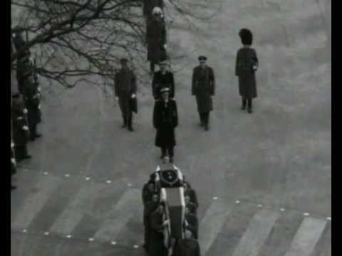 The State funeral of Winston Churchill