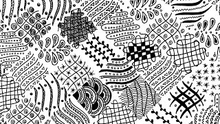 zentangle easy pattern printable templates patterns therapy drawing fill beginners draw activities children activity different worksheet adults exercises diy anxiety