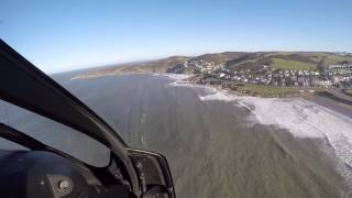 Woolacombe and Mortehoe fly past