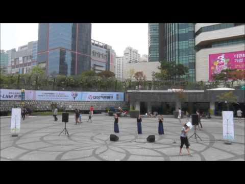 North Korean Pyongyang Art Troupe performance rehearsal scene Shindorim Beauty
