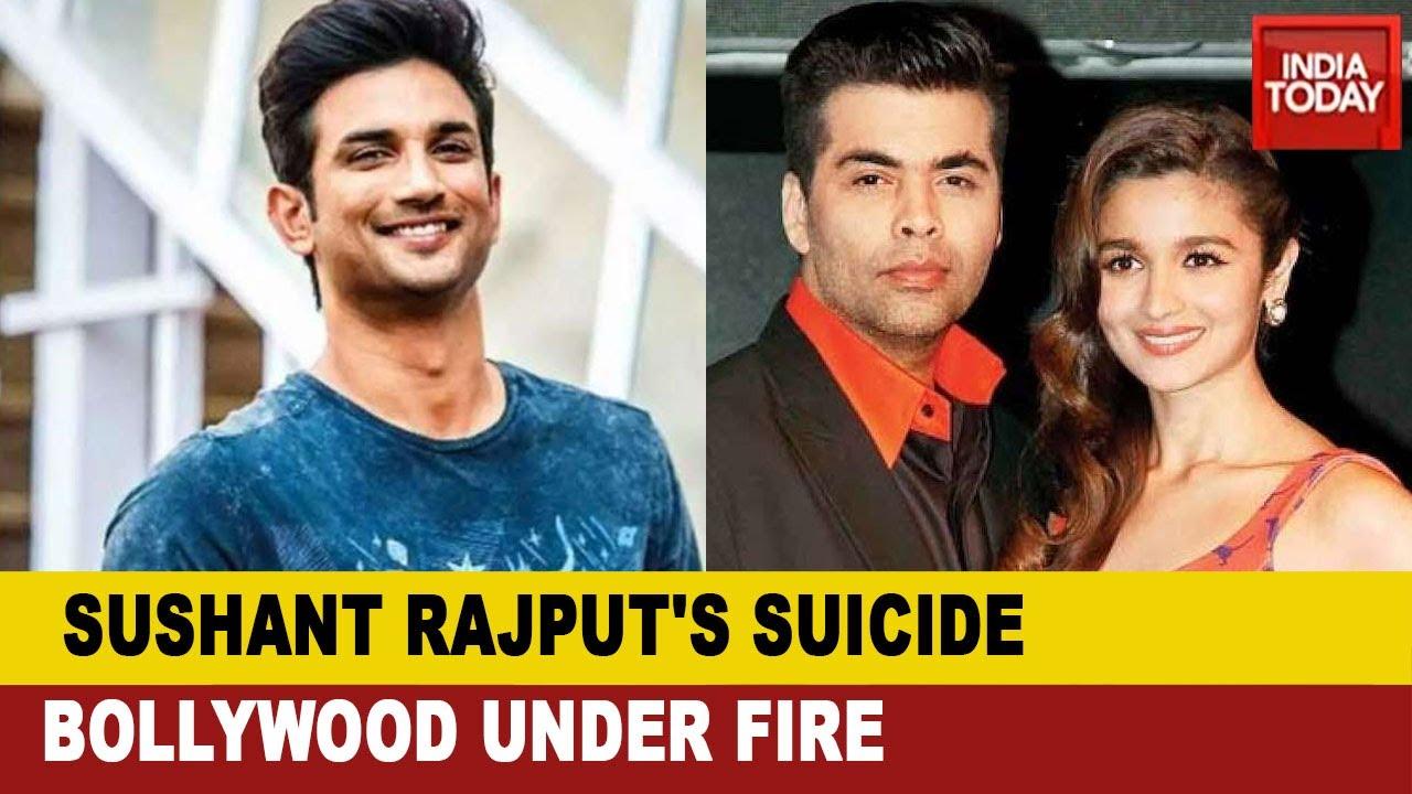 Bollywood Elite Under Fire Over Death Of Sushant Singh Rajput; Karan Johar, Alia Bhatt Faces Outrage