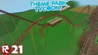 Roblox - Episode 21 | Theme Park Tycoon 2 - Wing Travel / FR