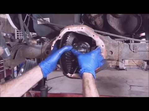 """2008 Ram 1500 9.25"""" Rear Differential Rebuild Disassembly Pt1"""