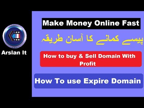How To Make Money with Expire Domains | Make Money at Home Fast 2018