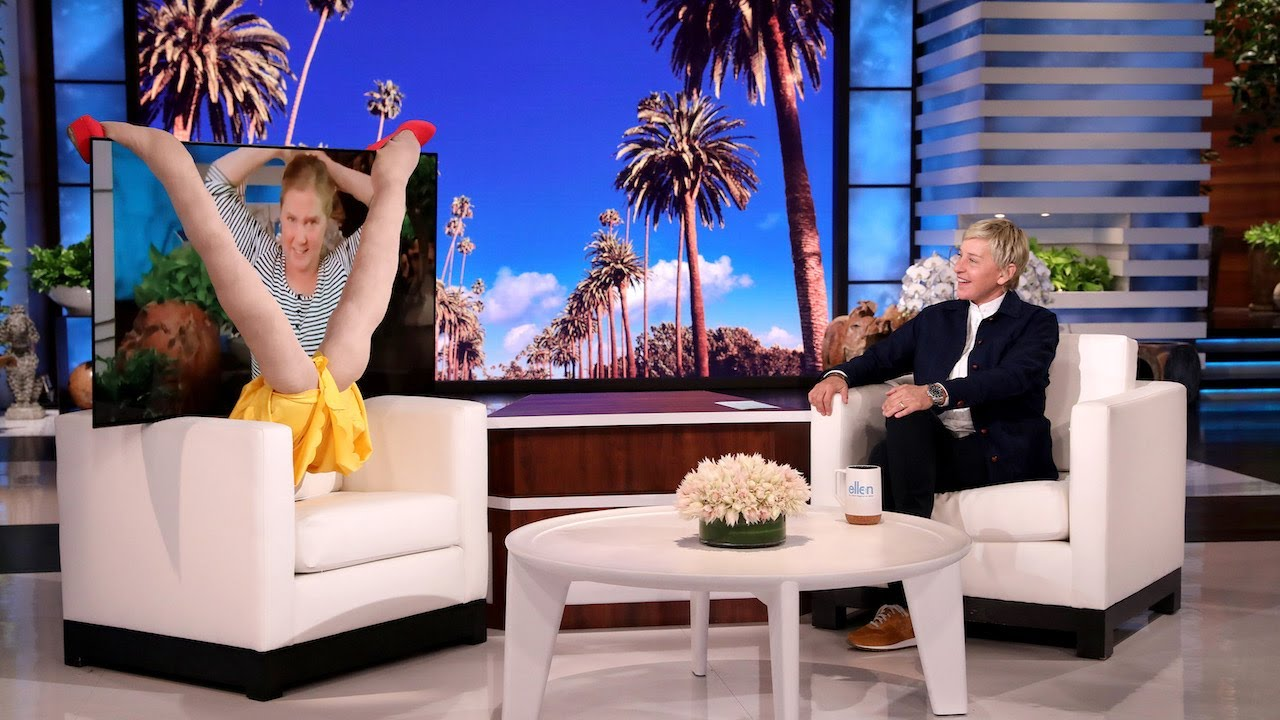 Download Amy Schumer Makes an Unforgettable 'In-Studio' Appearance