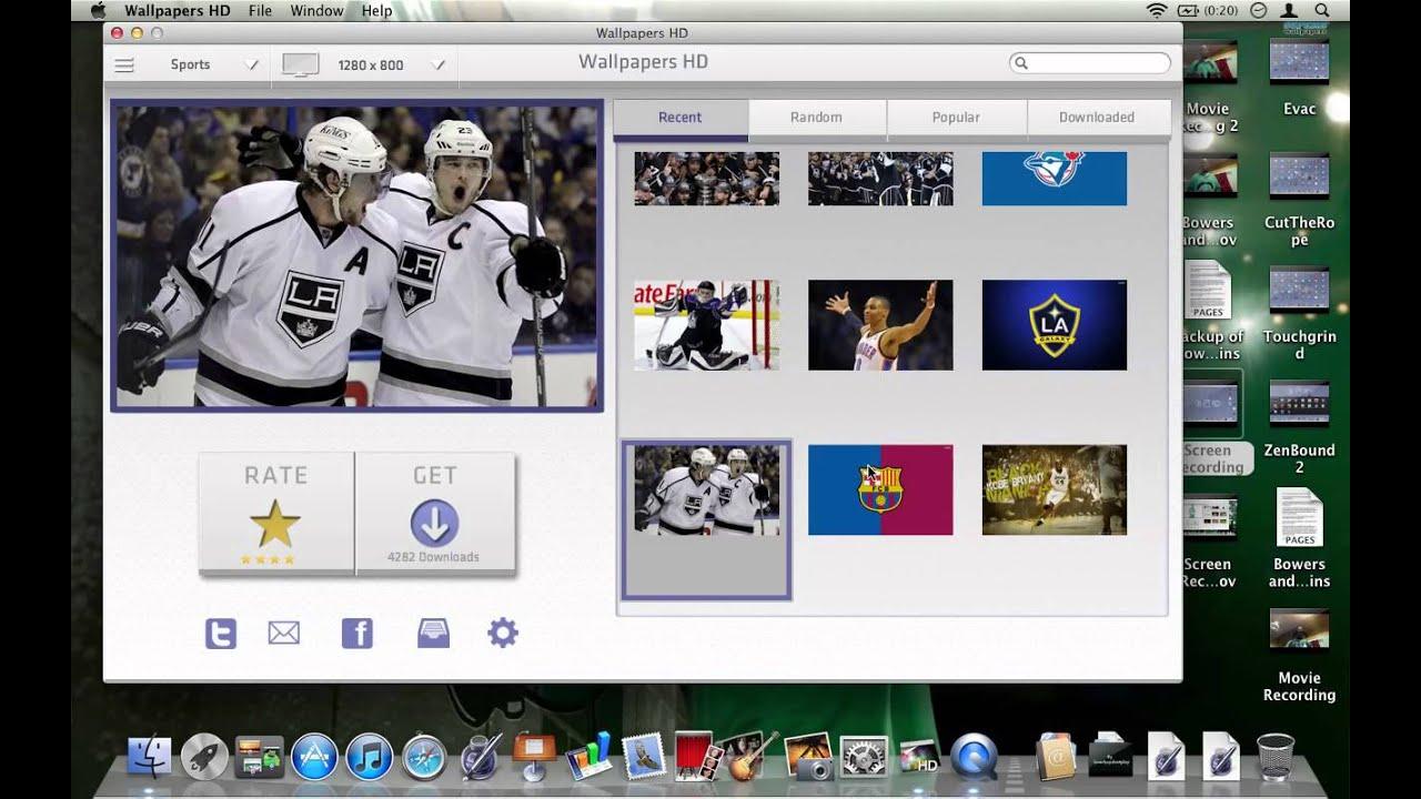 best mac wallpaper apps: wallpapers hd - youtube