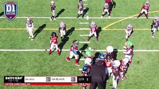D1 Nation All American Youth Football 2021 (6u Georgia Black vs Georgia Black - Championship Game)