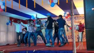 Angul funny boys desi dance in Rourkela SP tutorial silver jubilee