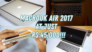 Apple MacBook Air 2017 Unboxing & Initial Impressions! Is it worth it?