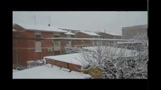 La nev a Ort(by Tina)Sul cucuzzolo della montagna-Parodia