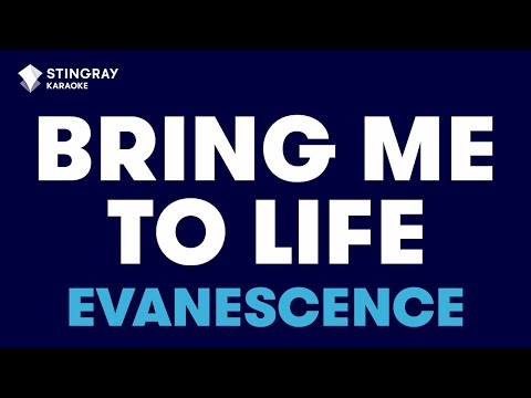 "Bring Me To Life in the Style of ""Evanescence"" karaoke video with lyrics (no lead vocal)"