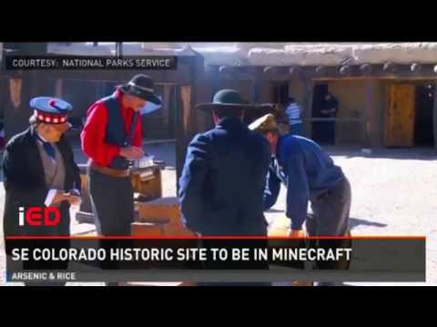 Denver TV News: Minecraft for history & culture in Colorado