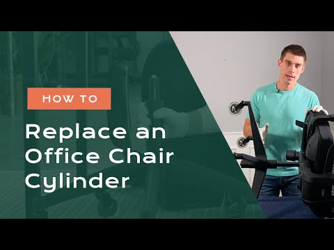 The New Way to Remove and Replace an Office Chair Cylinder (Without a Pipe Wrench)