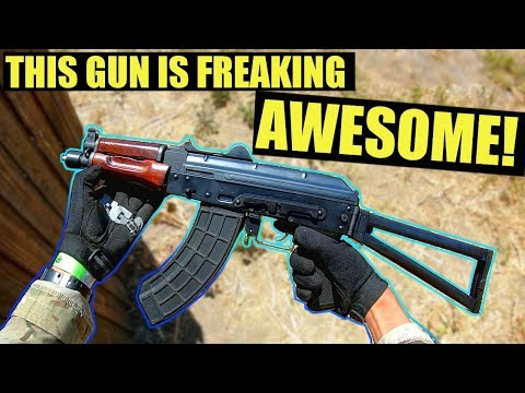 This Gun Is Freaking Awesome! | Bolt AKSU74 Electric Blow Back AEG
