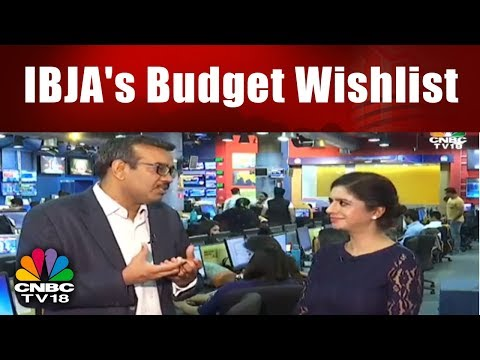 What does India Bullion & Jewellers Association Want from Budget 2018? | CNBC TV18