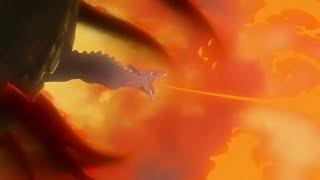 Naruto libera las 9 colas / Pain usa el Chibaku Tensei