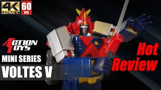 This is a review of the Voltes V from Action Toys Mini Series, which is a small size figure composed by 5 Volt Machines, it is stunning and price is very attractive!