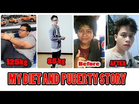 PENGALAMAN DIET TURUN 40KG!!  DAN SKIN CARE GAK RUTIN !! #MyDietStory
