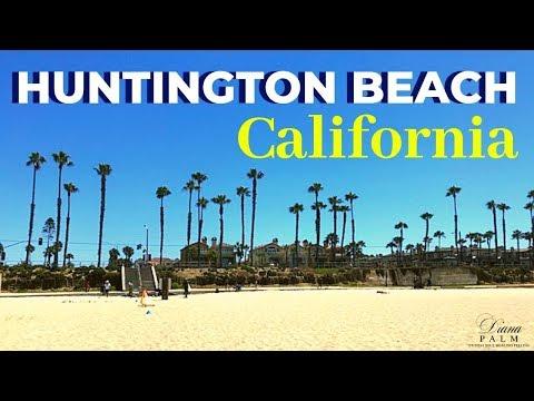 WALKING TOUR OF HUNTINGTON BEACH PIER CALIFORNIA