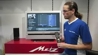 Tutorial - Metz Sendersuchlauf für Kabel TV starten bei LCD Fernsehern bis 2014