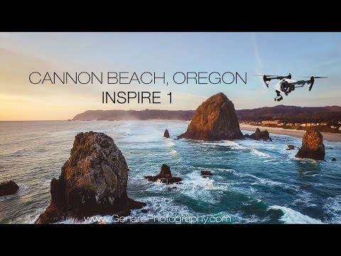 Cannon Beach Aerial Drone