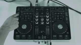 resident dj Kontrol 3 USB-MIDI DJ-Controller Soundkarte