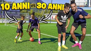 ⚽ 10 ANNI vs 30 ANNI FOOTBALL CHALLENGE!