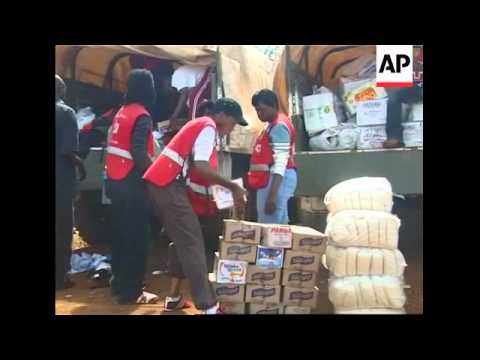 Food aid distributed; ODM accuses police of torching homes