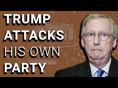 Trump Now Slamming...Republican Leader Mitch McConnell?