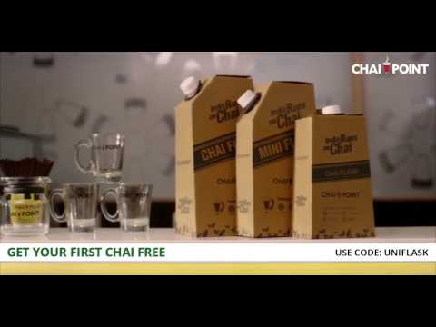 Chai Point - Uniflask Offer