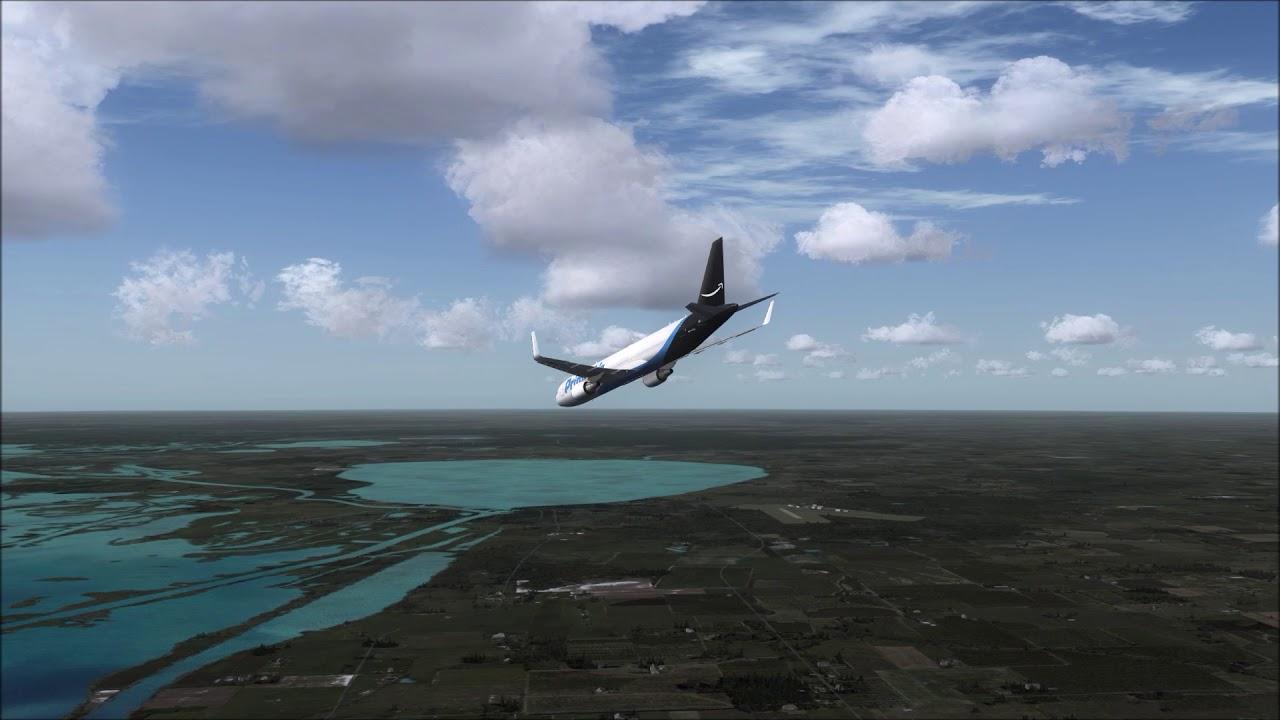 Amazon Prime Air 767-300ER Crash near Houston ++ FSX - YouTube