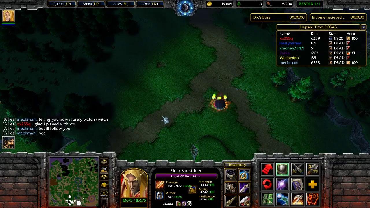 Warcraft 3 Custom Games Custom Castle Defence Reborn