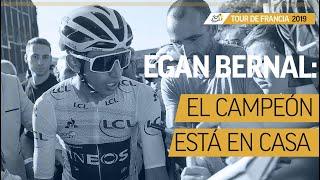 Egan Bernal: así fue su sorpresiva llegada a Colombia I Noticias I El Espectador
