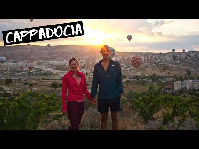 Cappadocia,Turkey: Magical Hot Air Balloons at Sunrise