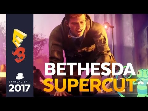 The E3 Bethesda Conference 2017 Supercut - Totalbiscuits Snarkathon [strong language]